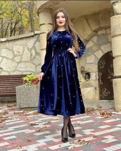 Платье длинное нарядное А55365