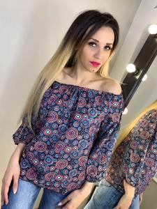 Блуза с коротким рукавом Х9459
