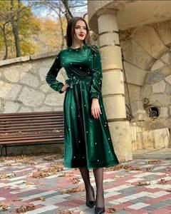 Платье длинное нарядное А55366