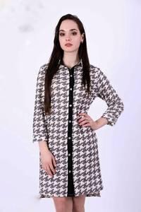 Платье короткое с рукавом 3/4 Ц9091