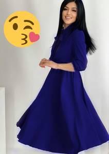 Платье длинное нарядное А41222