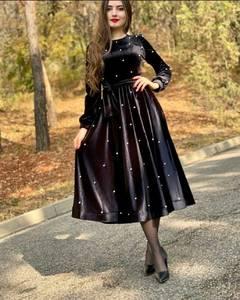 Платье длинное нарядное А55367
