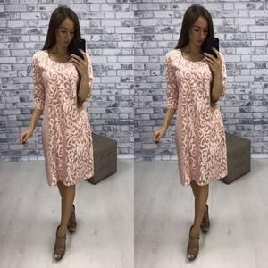 Платье короткое нарядное вечернее Т6116