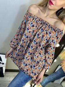 Блуза с коротким рукавом Х9463