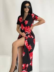 Платье длинное нарядное А41225