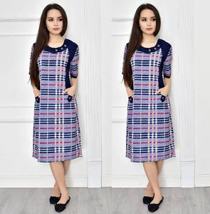 Платье короткое с коротким рукавом повседневное Т7730
