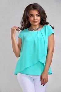 Блуза с коротким рукавом А34791