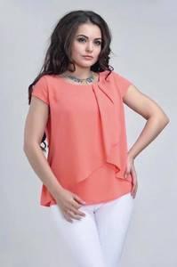 Блуза с коротким рукавом А34792