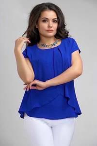 Блуза с коротким рукавом А34793