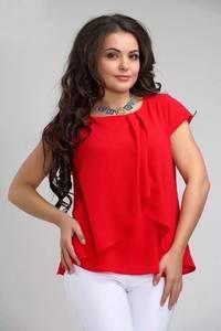 Блуза с коротким рукавом А34794