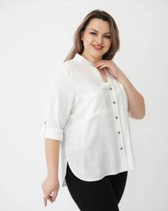 Рубашка однотонная А40030