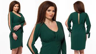 Платье короткое нарядное современное Х3491
