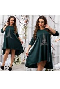 Платье короткое нарядное Ч4536
