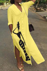 Платье длинное летнее А34801