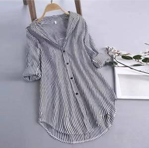 Рубашка в полоску А41233