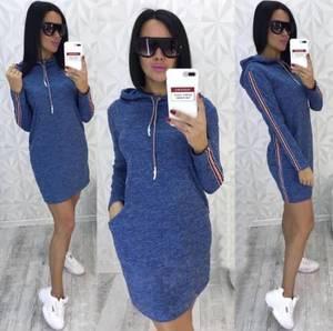 Платье короткое с длинным рукавом современное Ф6323