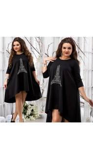 Платье короткое нарядное Ч4538