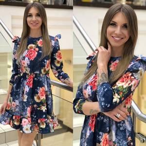 Платье короткое современное Я2532