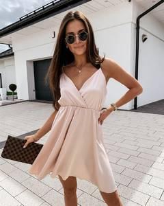 Платье короткое летнее А37509