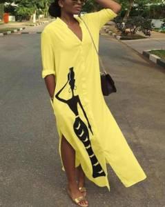 Платье длинное летнее А44192