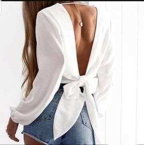 Блуза с длинным рукавом Ц1504