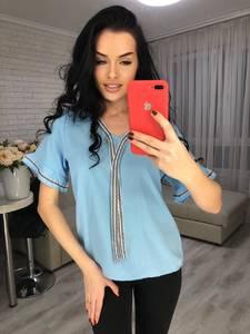 Блуза с коротким рукавом Я6665