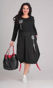 Платье короткое повседневное Ф1896