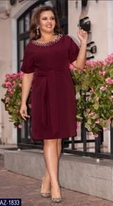 Платье короткое нарядное Ч4540