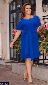 Платье короткое нарядное Ч4541