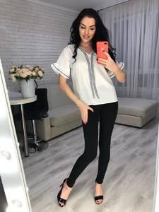 Блуза с коротким рукавом Я6661