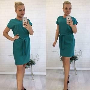 Платье короткое нарядное классическое У8990