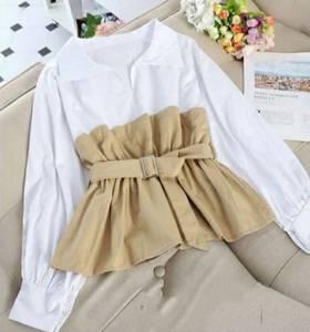 Блуза с длинным рукавом А40927