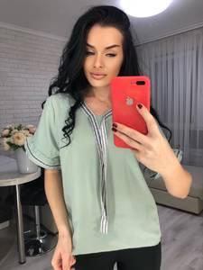 Блуза с коротким рукавом Я6664