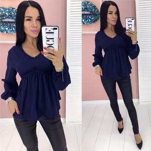 Блуза с длинным рукавом А01916