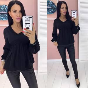 Блуза с длинным рукавом А01917