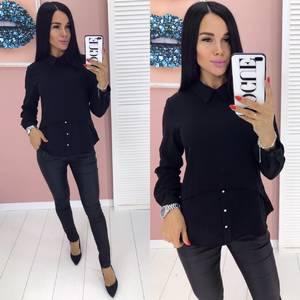 Блуза с длинным рукавом А01922