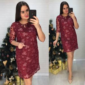 Платье короткое нарядное современное Х0511