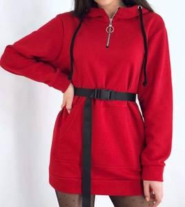 Платье короткое красное А10419