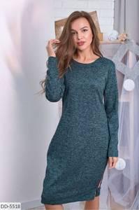 Платье короткое с длинным рукавом А10475