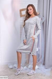 Платье короткое с длинным рукавом А10476