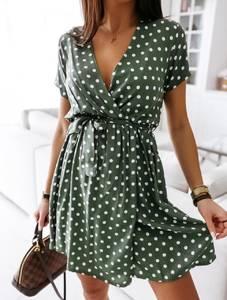 Платье короткое современное А39447