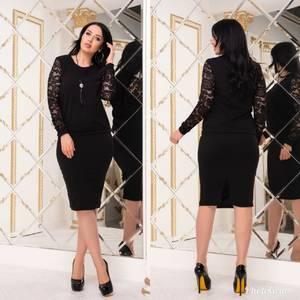 Костюм юбочный модный Х8814