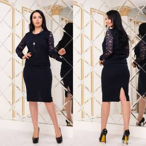 Костюм юбочный модный Х8815
