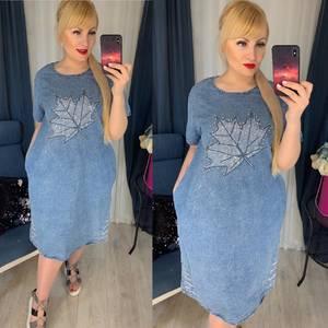 Платье короткое летнее Я2543