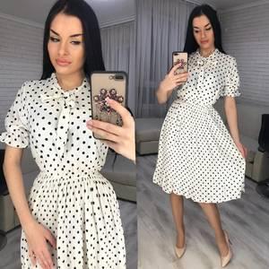 Платье короткое современное Я2547