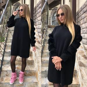 Платье короткое повседневное современное Т8756
