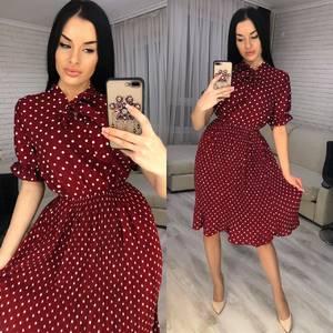 Платье короткое современное Я2548