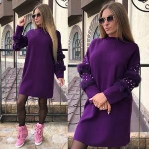 Платье короткое повседневное современное Т8757