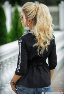 Блуза с коротким рукавом А27044