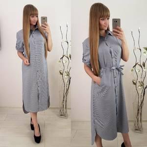 Платье длинное летнее У7552